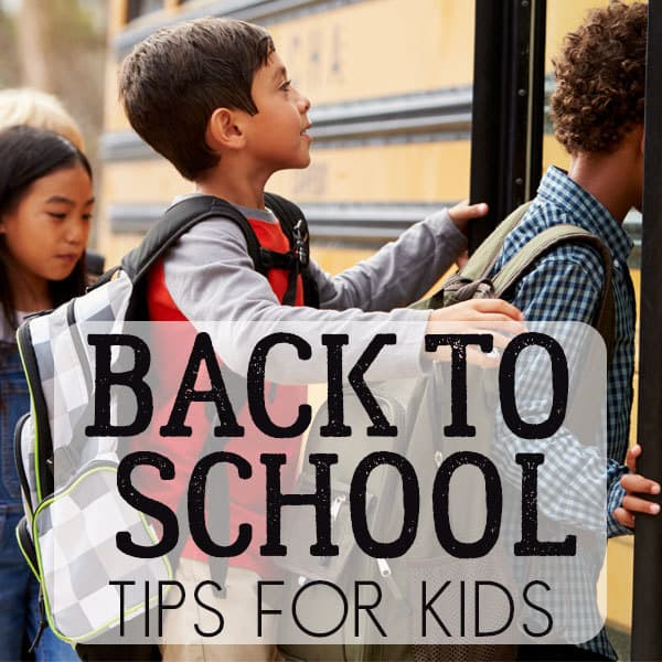 Top tips from teachers and parents for back to school for kids before they hit high school. Get your school year off to the best start possible.