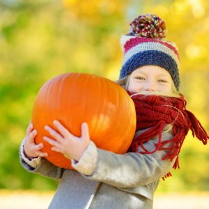 Where to pick pumpkin near London - all farms within an hour of London in average travel ideal for autumn family fun