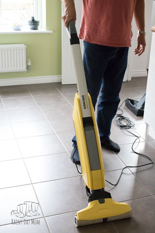 Review of Karcher FC5 Hard Floor Cleaner. A great solution for busy mums and dads keeping hard floors clean in less time.