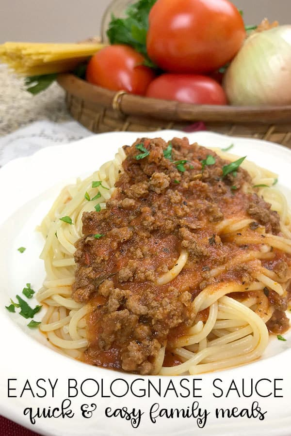 Easy Homemade Tomato Meat Sauce for Pasta
