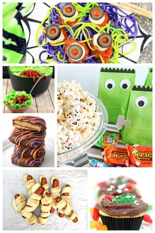 Fun Halloween Recipes for Kids to Cook that they will love to try. Delicious, easy and simple to follow these treats, snacks and meals will go down a trick or treat this Halloween.