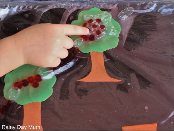 using water beads safely into sensory play with toddler keep them inside a sealed sensory bag