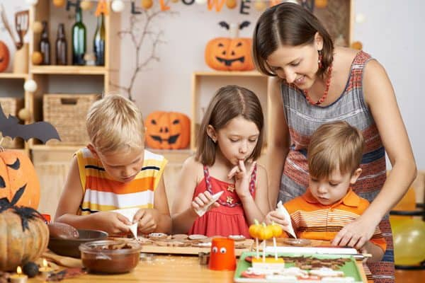 Get together in the kitchen with the kids this Halloween and make some of these spooky and fun Halloween Recipes.