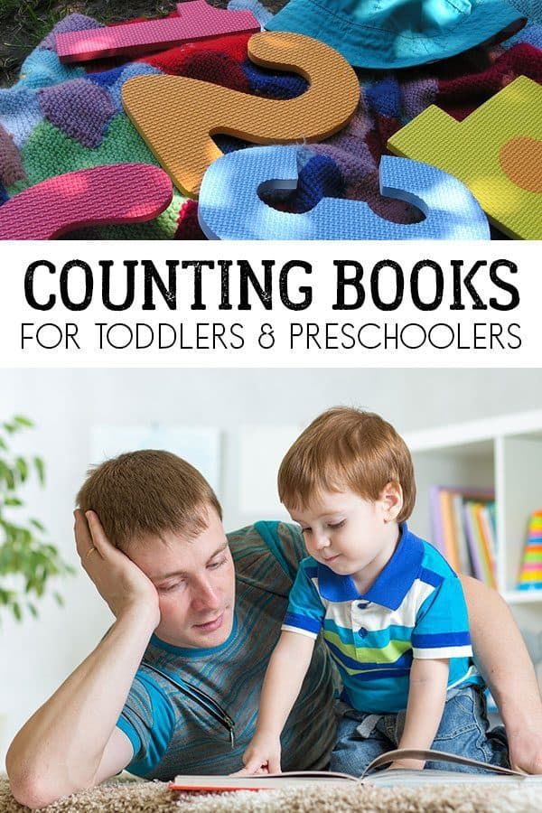 Read aloud recommendations for numbers and countings to share with your babies, toddler and preschoolers. A selection of fun books to read together.
