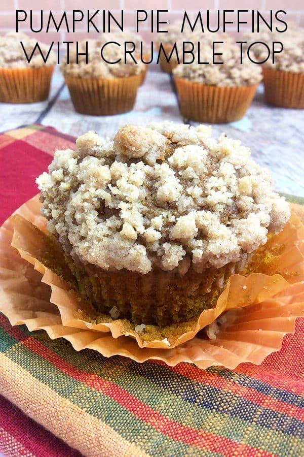 Pumpkin Crumble Muffins with Homemade Pumpkin Pie Spice Recipes
