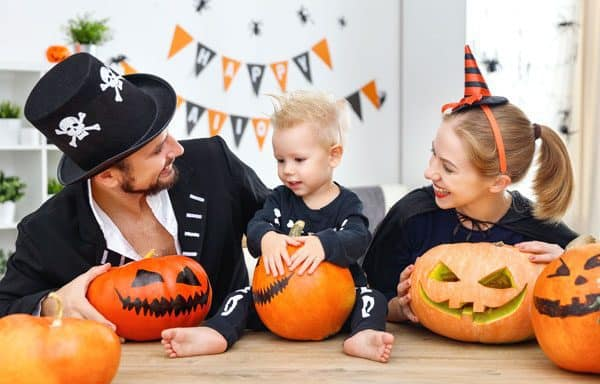 Have fun with your toddler at Halloween by following these top tips to make sure that they enjoy the holiday rather than being scared.