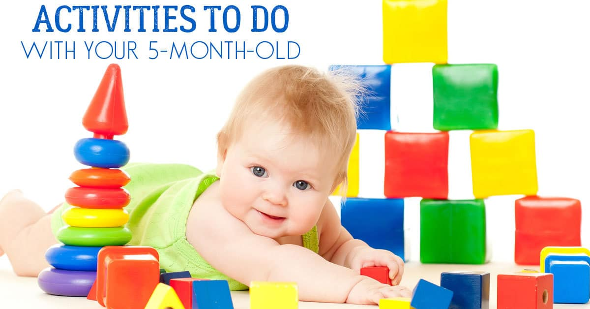 Simple Activities To Support Development With Your 5 Month Old Baby