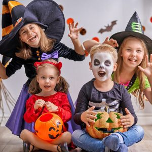 How to have a not so scary Halloween with your toddler. Top tips for celebrating the holiday and making it fun and easing the fear and worry.