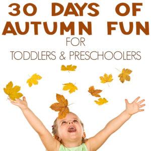 30 Days of Autumn Play Challenge