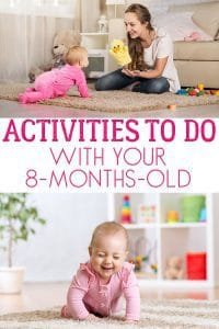 Activities to do with your 8-months-old baby now that they are on the move