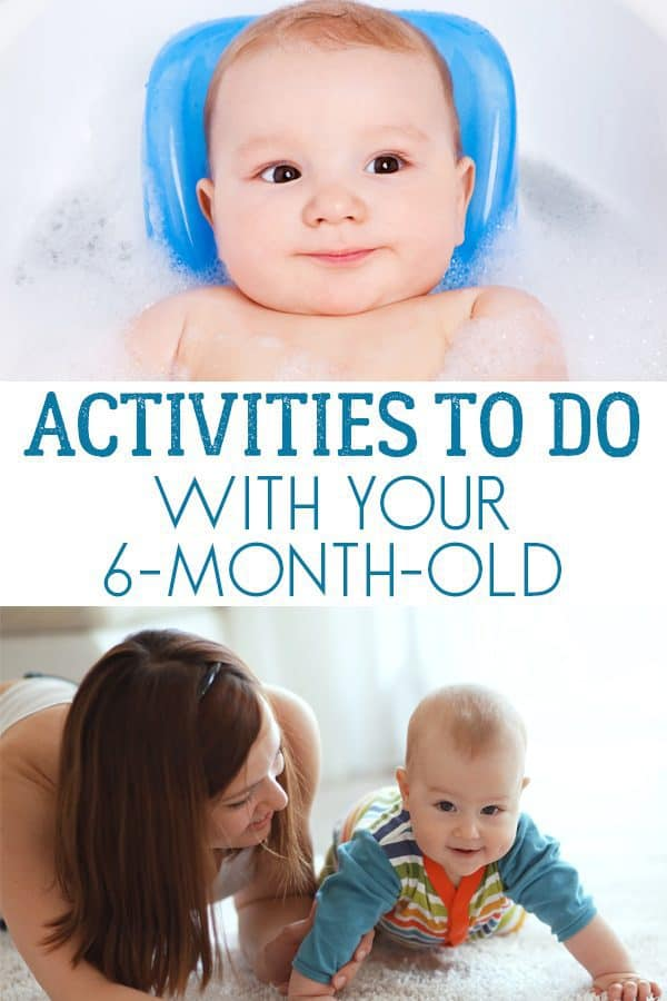 Activities to do with your 6-month-old