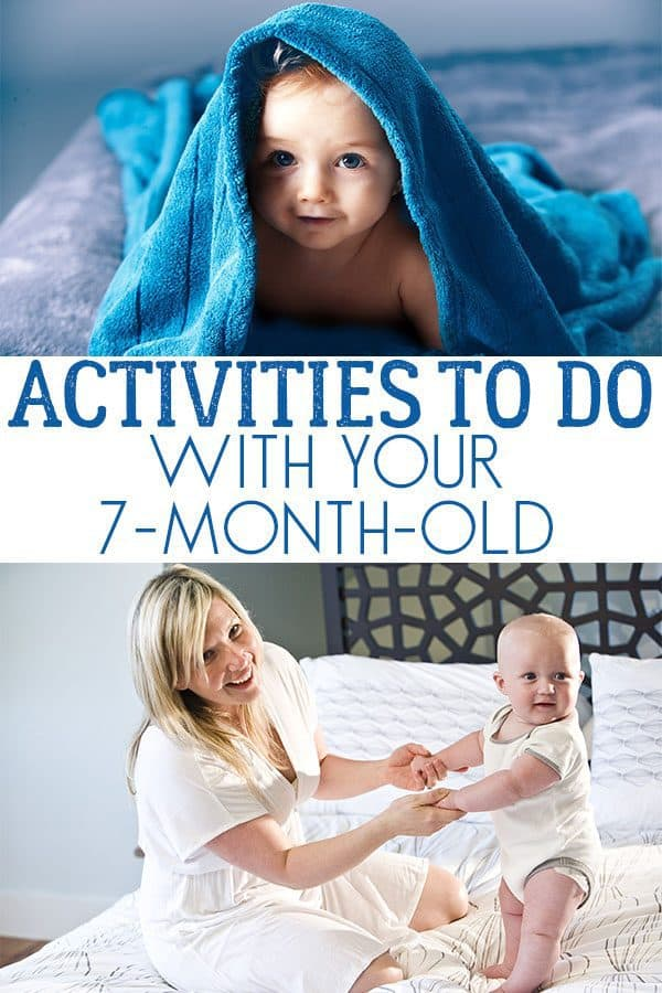 Fun activities to do with your 7-month-old