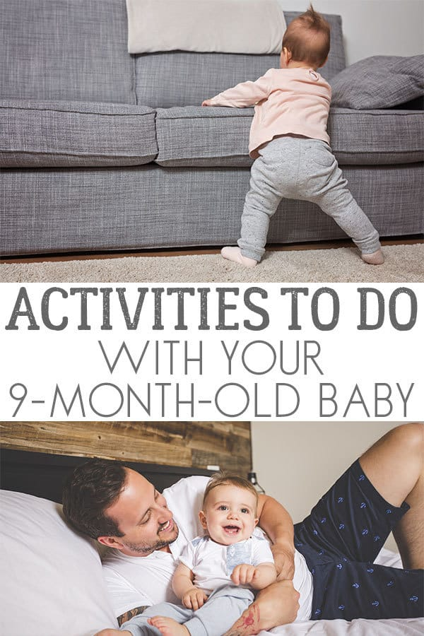 Fun Activities to do with your 9-month-old baby