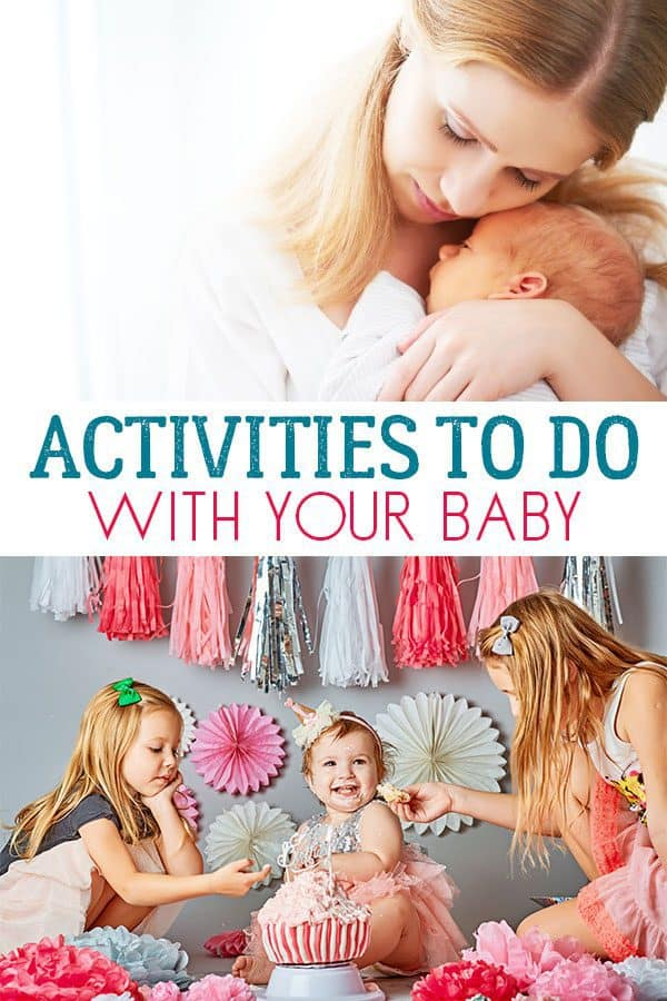 Bond and Connect with these Simple Baby Activities