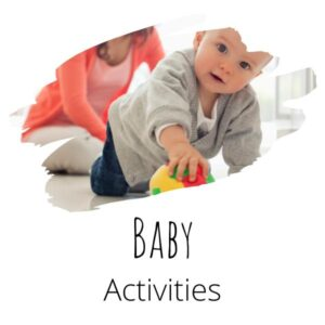 Simple Activities to do with your baby from Birth to 1-year-old