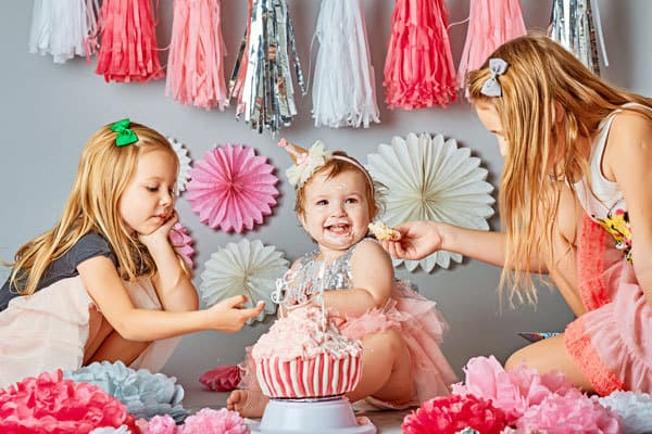 activities for babies to take you from newborn to 12-month-old and celebrating their first birthday