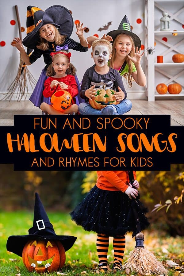 Halloween Rhymes and Songs for Toddlers and Preschoolers
