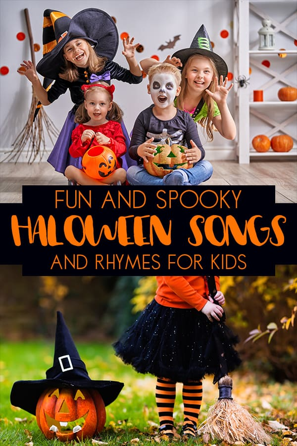 Fun Halloween Songs and Rhymes for Toddlers and Preschoolers to sing out loud