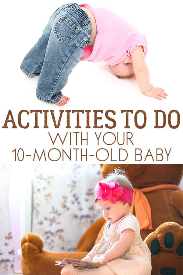Activities to do with your 10-month-old Baby