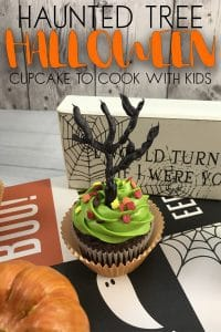Quick and easy Halloween Cupcakes to decorate with kids a complete step by step tutorial for this Halloween Treats