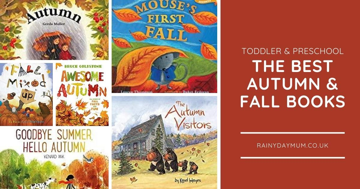 Autumn Books and Stories for Toddlers and Preschoolers