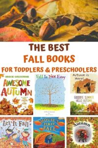 the best fall books for toddlers and preschoolers