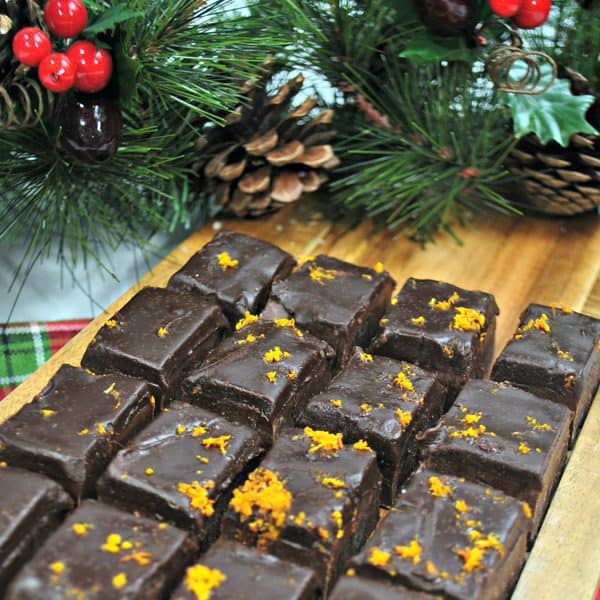 Yummy recipe for homemade chocolate orange fudge that tastes so good and even kids can make. See full recipe for adaption for slow cooker or double boiler