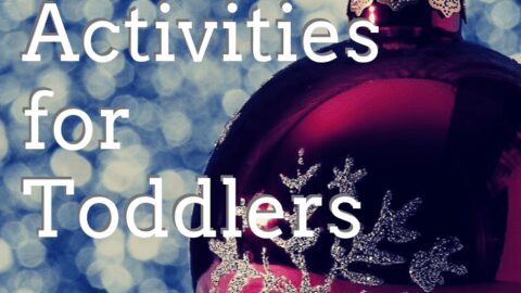 24 simple advent activities for toddlers