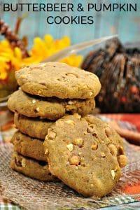 Harry Potter Inspired Pumpkin Butterbeer Cookie Recipe