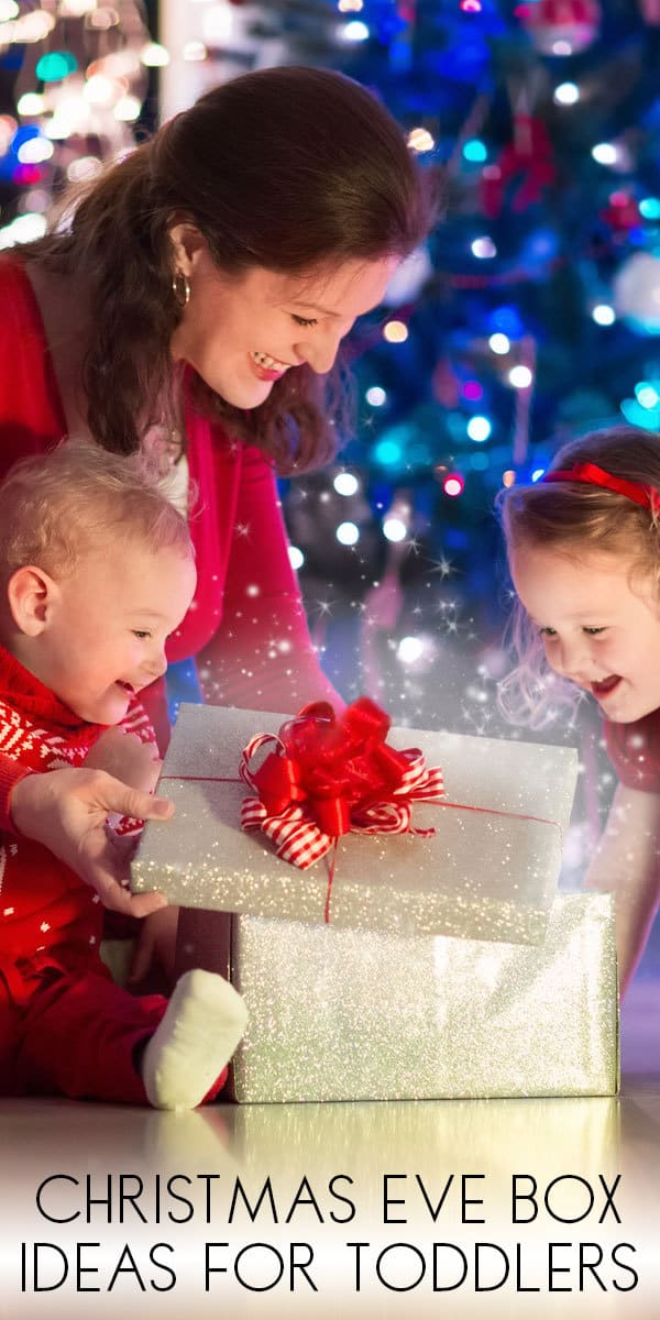 Christmas Eve Box Filler Ideas for Toddlers, Preschoolers and Older Kids