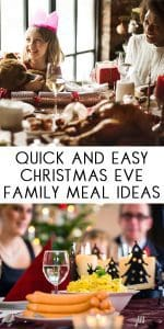 Delicious homecooked family recipes for Christmas Eve dinner with the kids