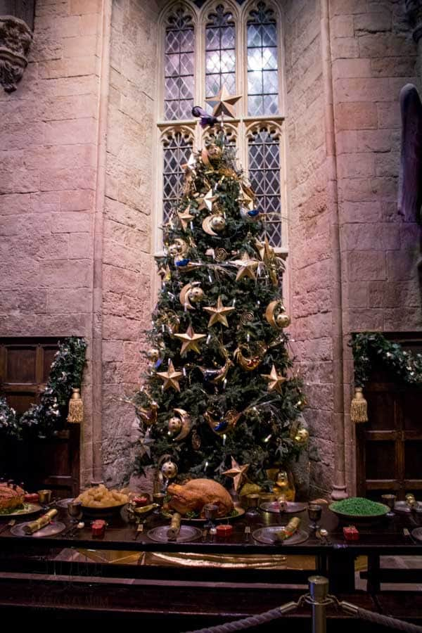 Great Hall Christmas Tree for Hogwarts in the Snow