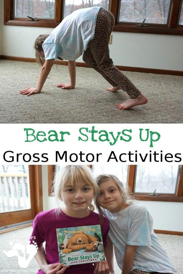 Bear Stays Up Late for Christmas Gross Motor Activities for Kids
