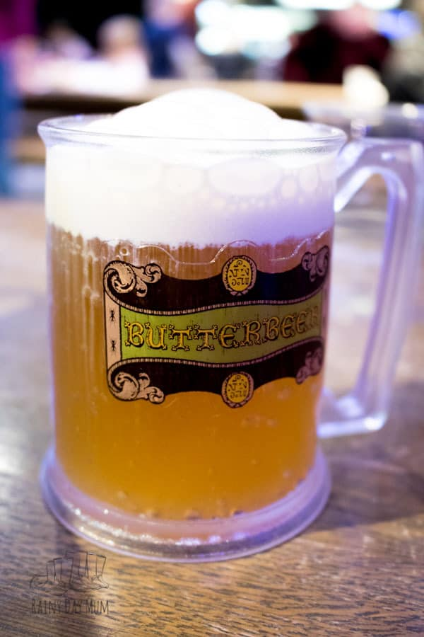 butter beer served fresh in the backlot cafe at warner bros studio tour london the making of harry potter