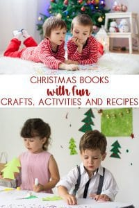 fun christmas books with matching crafts and other activities for kids