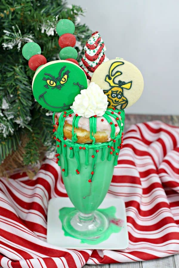 grinch drink for kids a fun desserts for Christmas treats