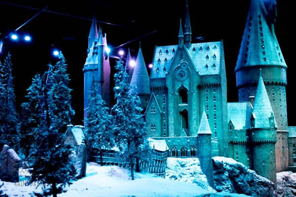hogwarts at Christmas London studio tour