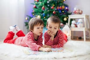 christmas crafts and activities based on picture books for kids from toddler upwards