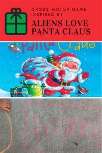 Aliens Love Panta Claus Gross Motor Game for Kids