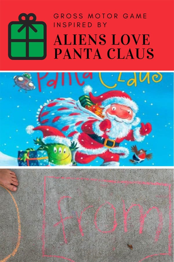 Aliens Love Panta Claus Gross Motor Activity for Kids