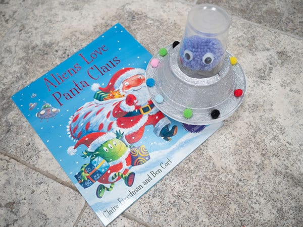 Aliens Love Panta Claus book and craft for kids to make