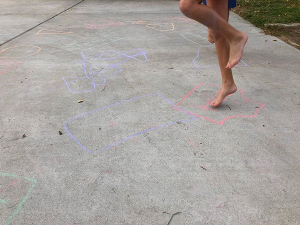 make your own gross motor activity game inspired by Aliens love Underpants