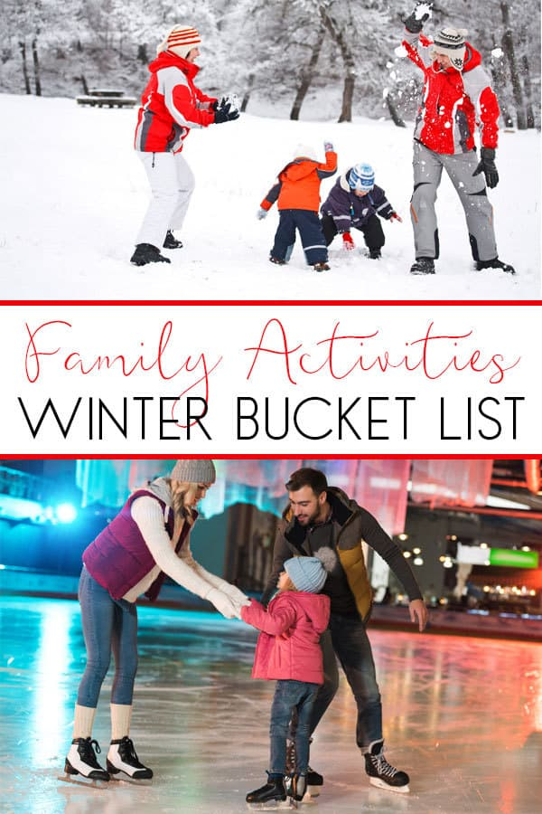 family activity winter bucket list 20 simple ideas to spend time together as a family
