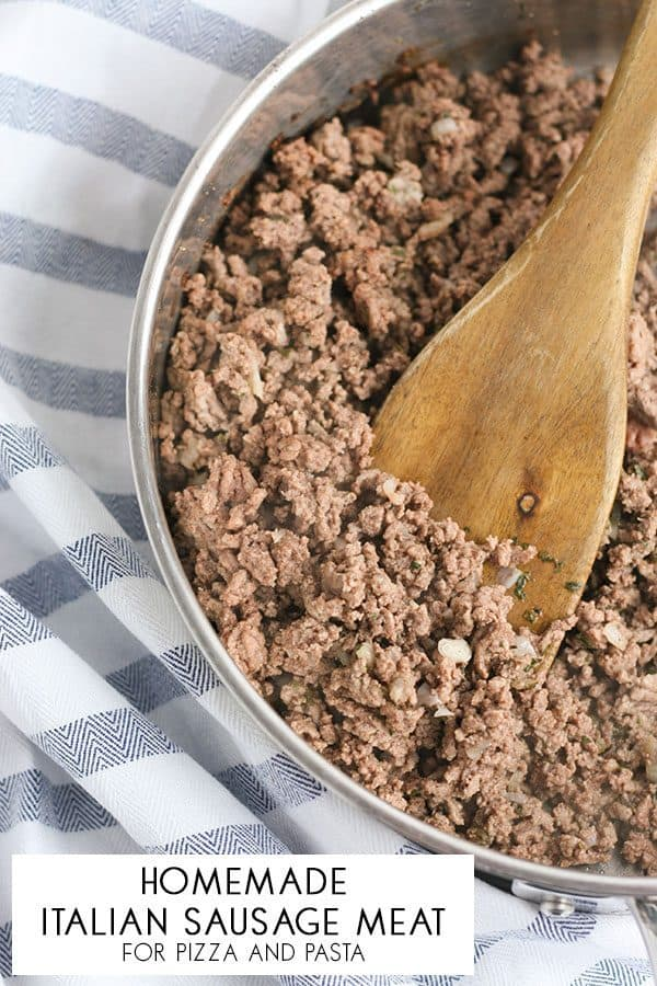 Homemade Italian Sausage Meat