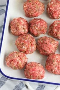 meatballs ready for cooking