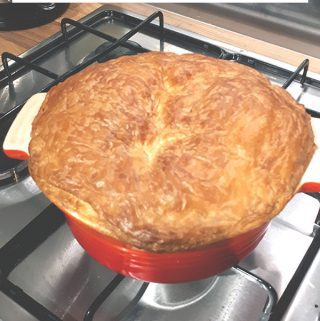 Quick and easy Chicken Pie for family meals