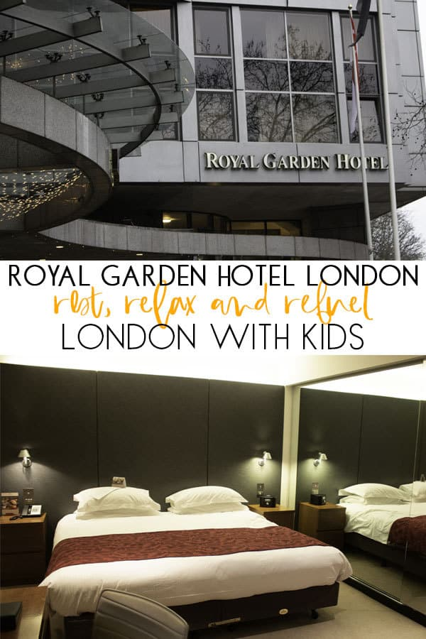 Rest, Relax, Revive at Royal Garden Hotel London