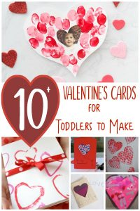 Toddler Valentine's Card ideas to make