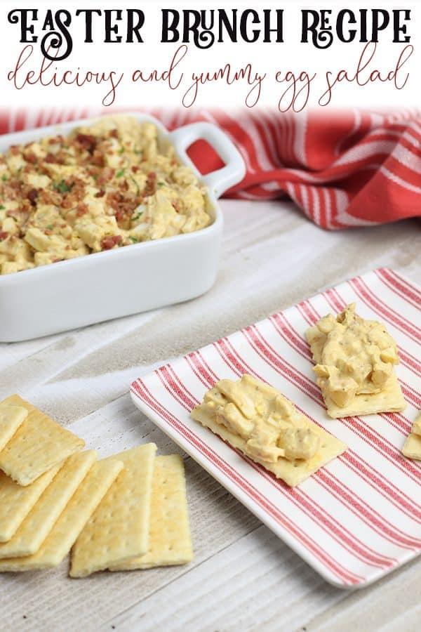 Easter Brunch Recipe for egg salad