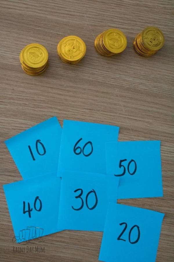 counting in 10s putting numbers in order